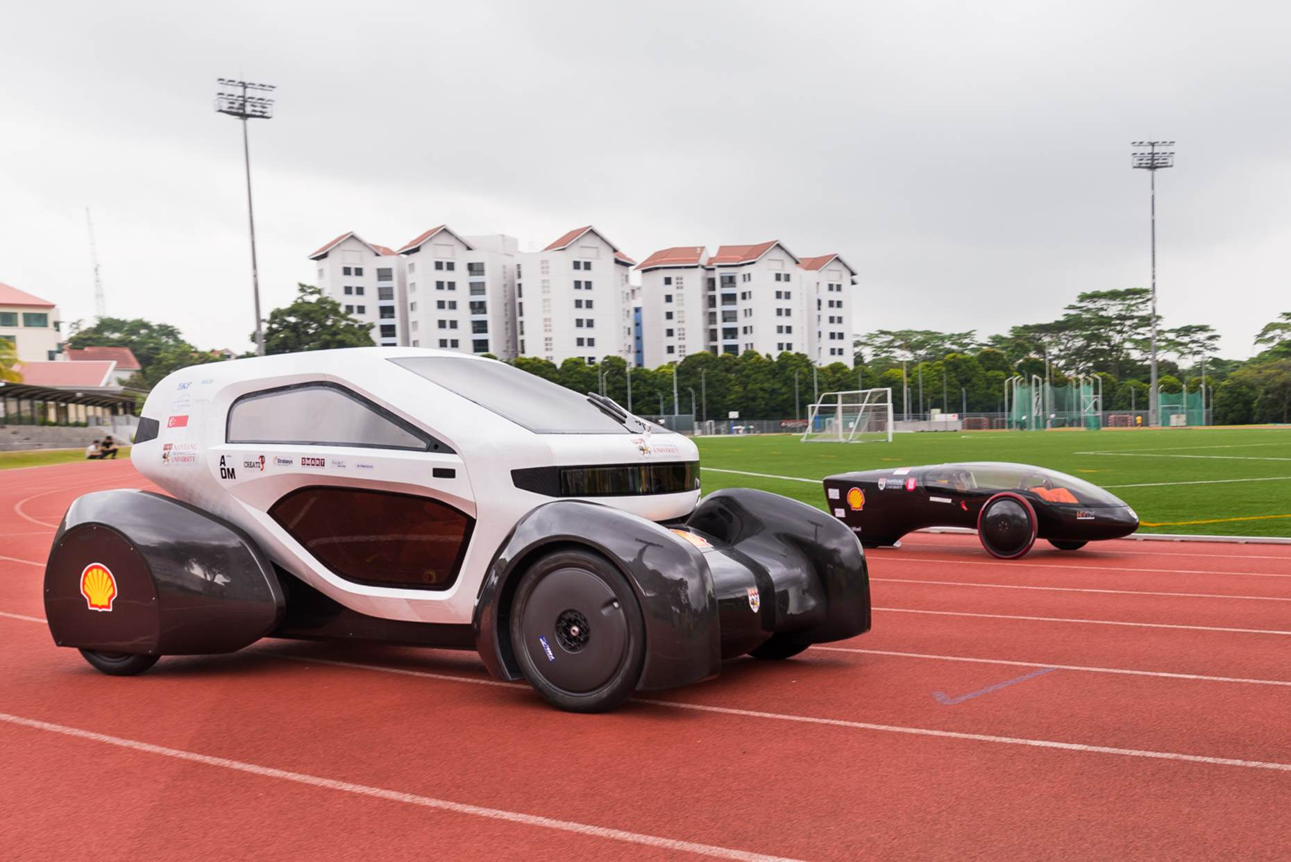 NTU 3D Printed Electric Cars Singapore - AspirantSG