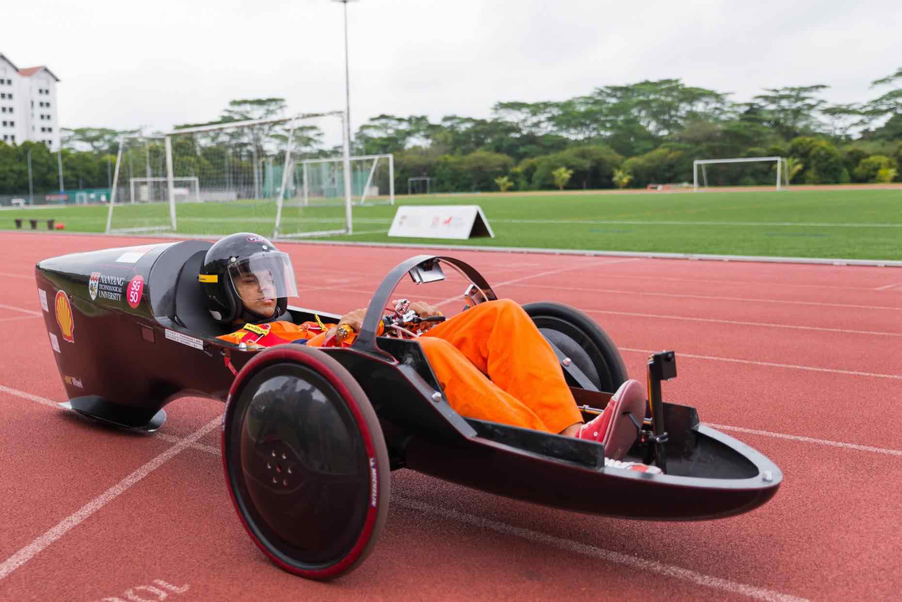 NTU NV 9 Racer Car Singapore - AspirantSG