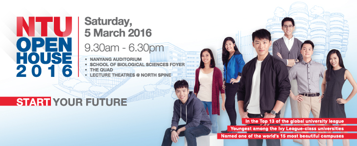 NTU Open House 2016 - AspirantSG