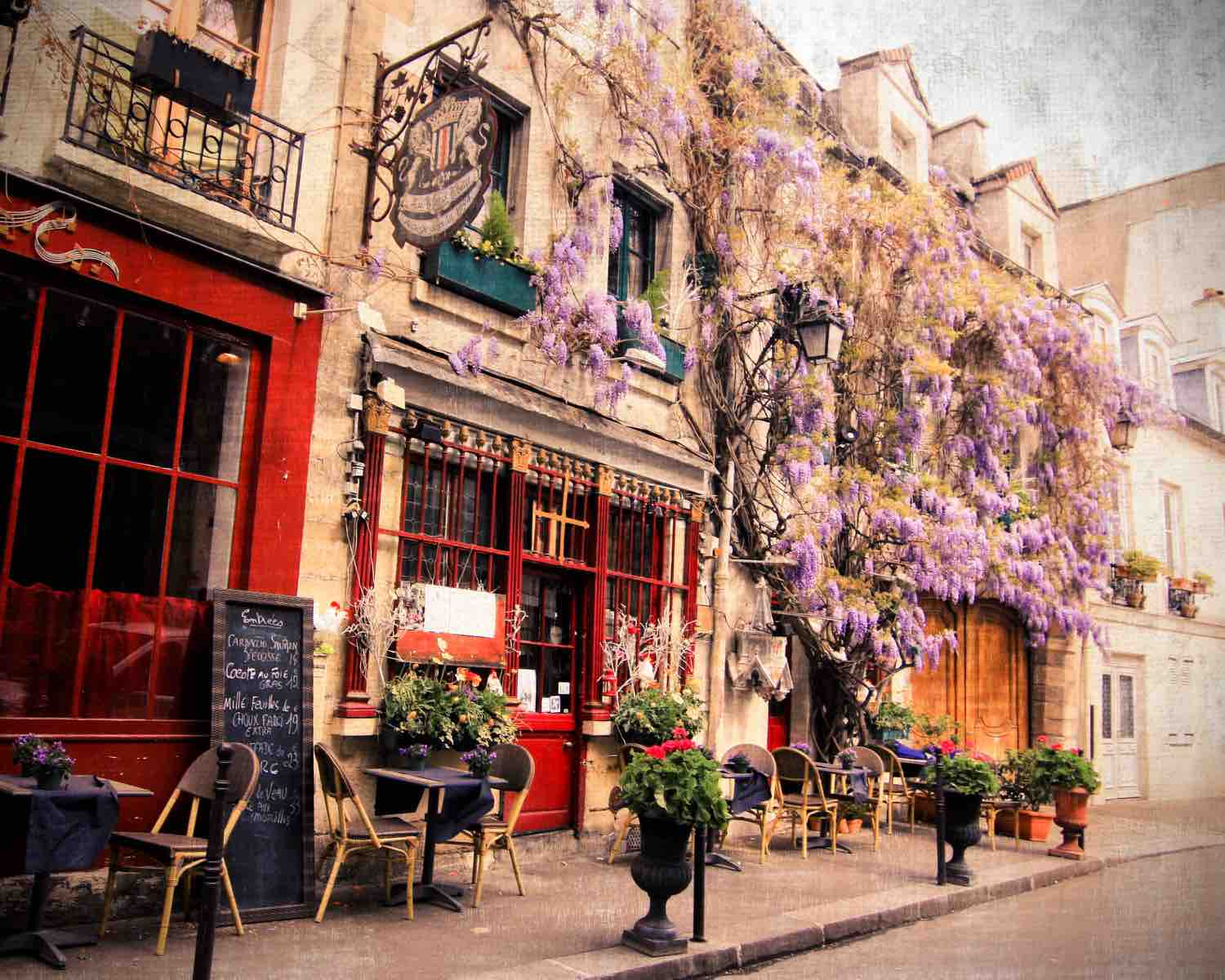 Romantic Street Of Paris - AspirantSG