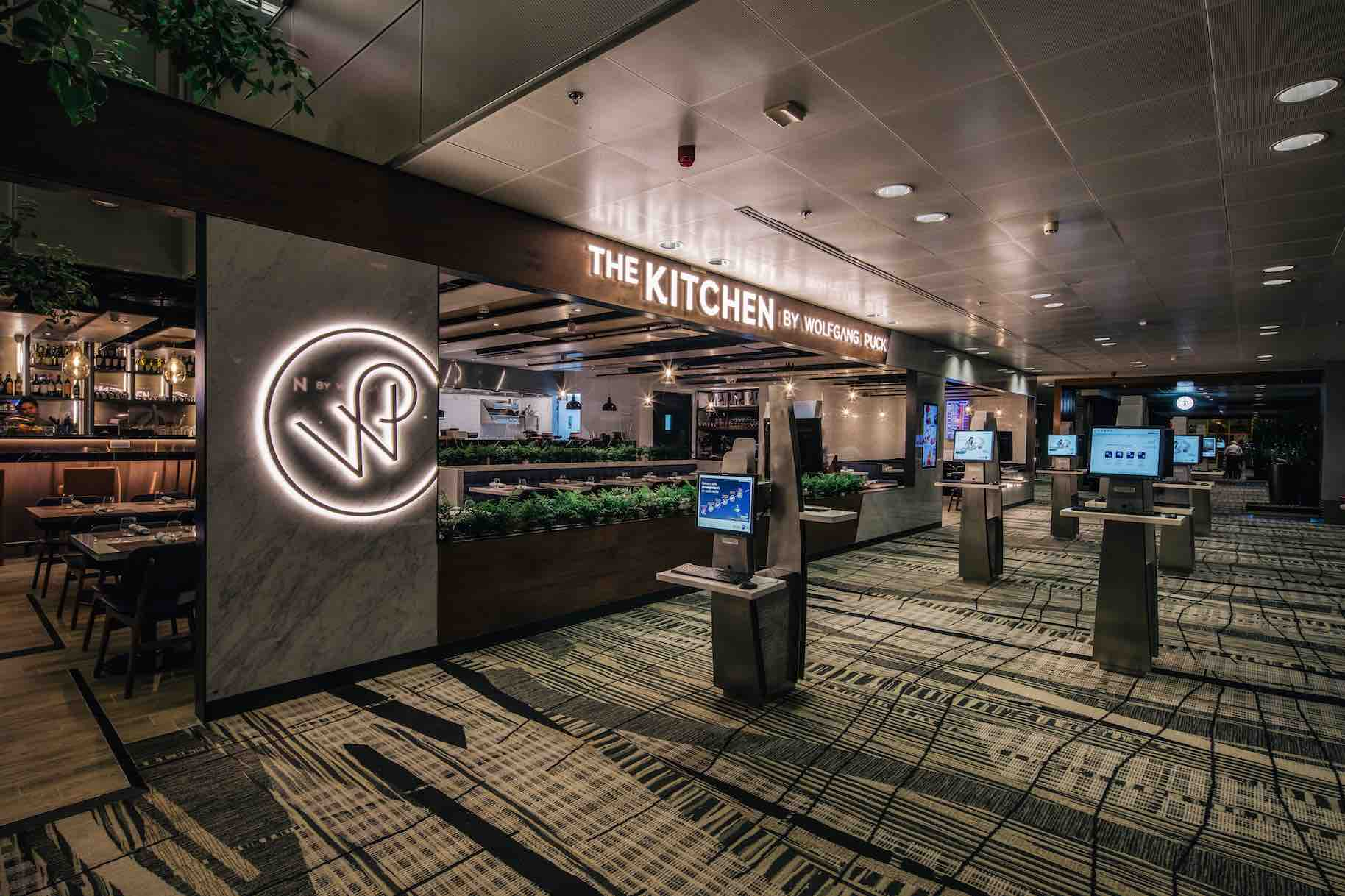 the kitchen by wolfgang puck now at singapore changi airport chef wolfgang puck shared i m excited to unveil my new restaurant in changi airport s t3 to the many visitors travelling through singapore