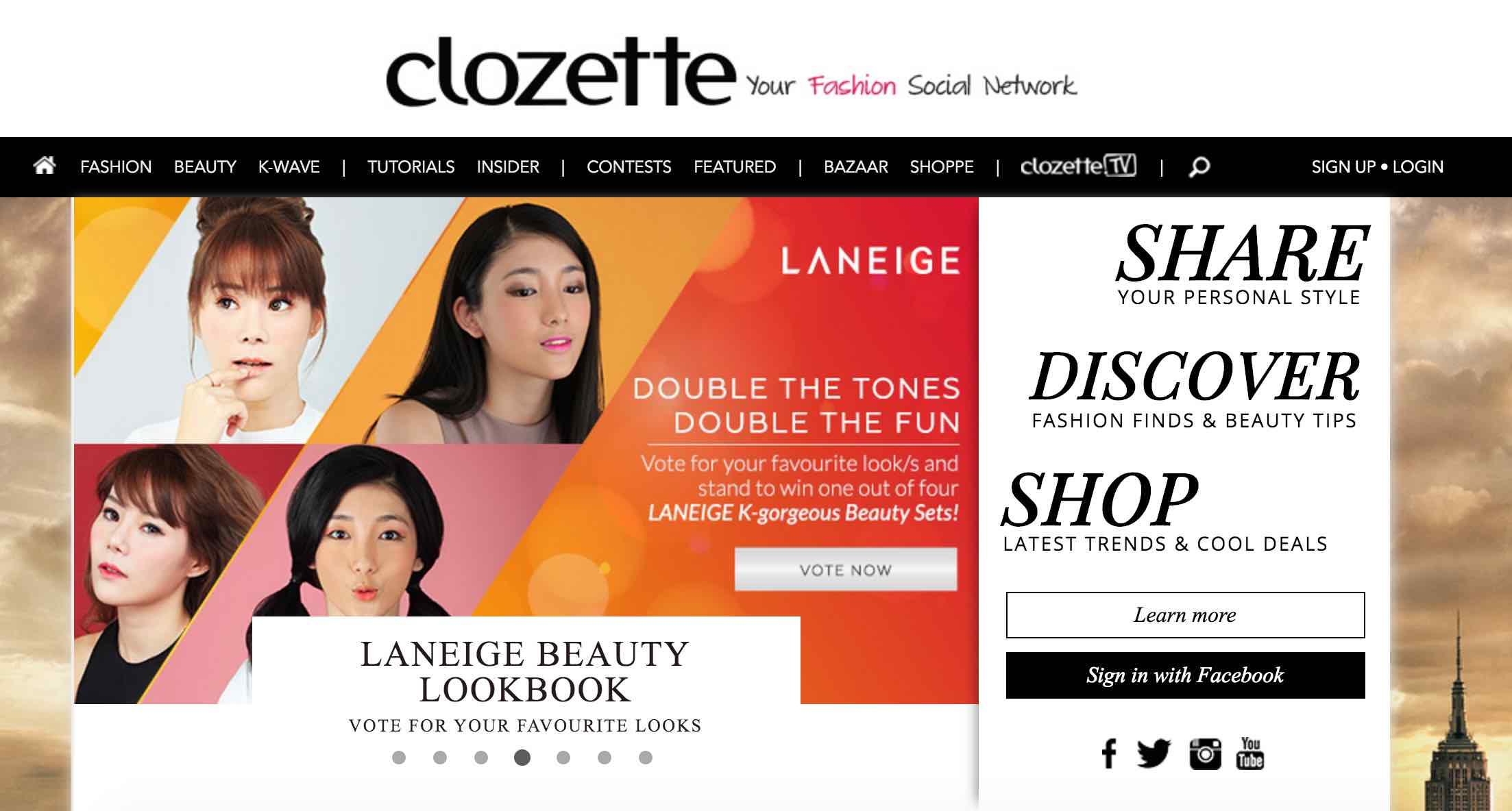 Clozette Singapore - AspirantSG