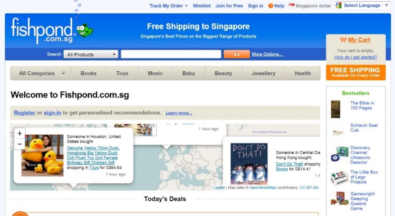 Fishpond Singapore - AspirantSG
