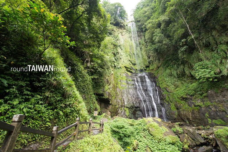 Five-peak Flag Waterfall