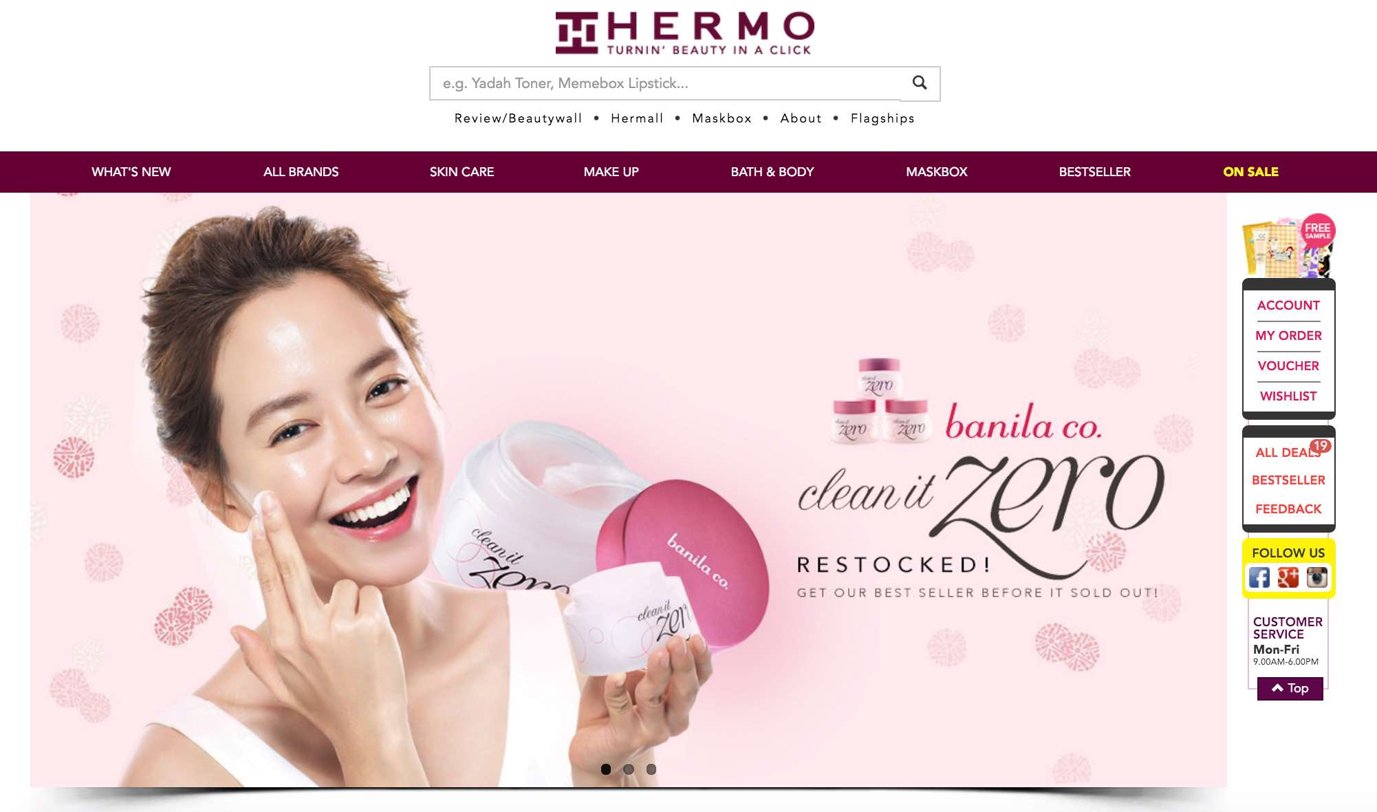 Hermo Beauty e-Tailer Launched In Singapore - AspirantSG
