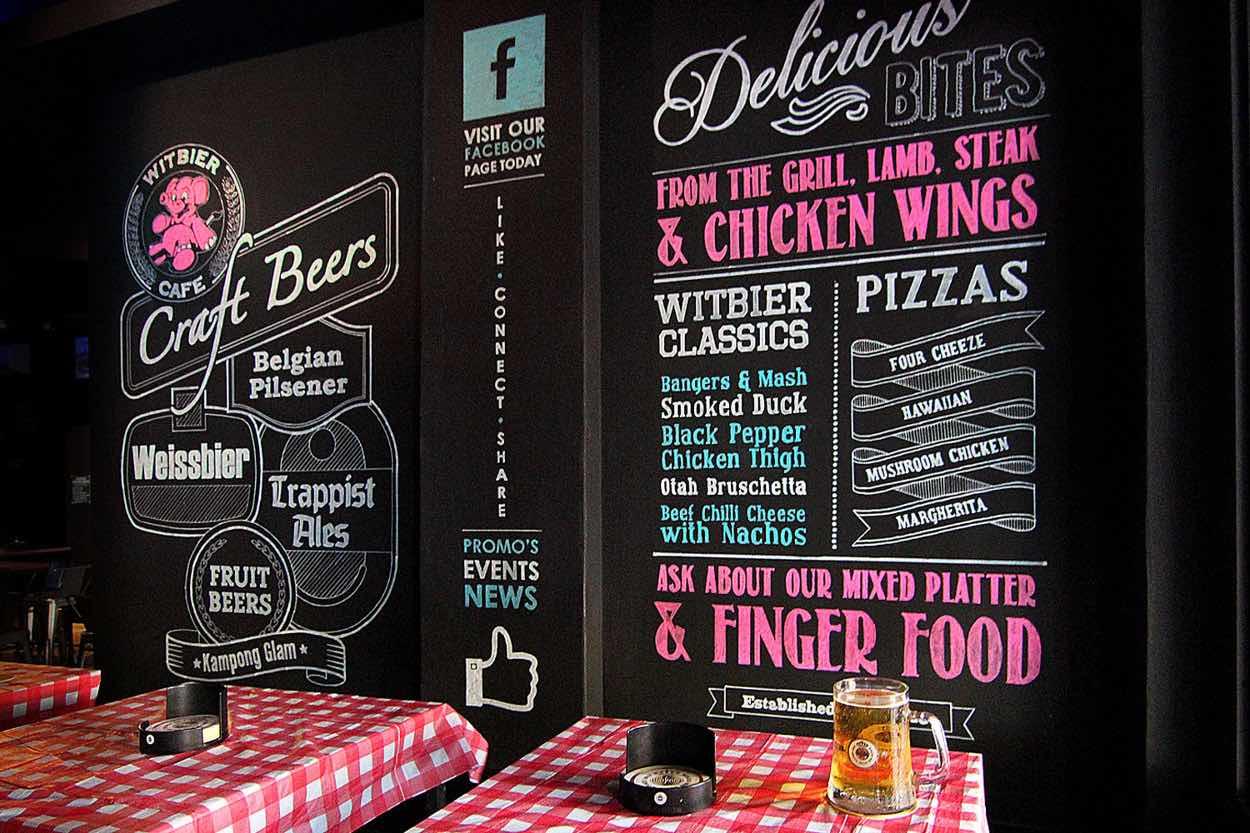 Witbier Cafe Singapore - AspirantSG