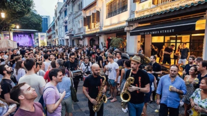 Amoy Street Bloc Party Returns – Food, Music & Culture At Chinatown Singapore