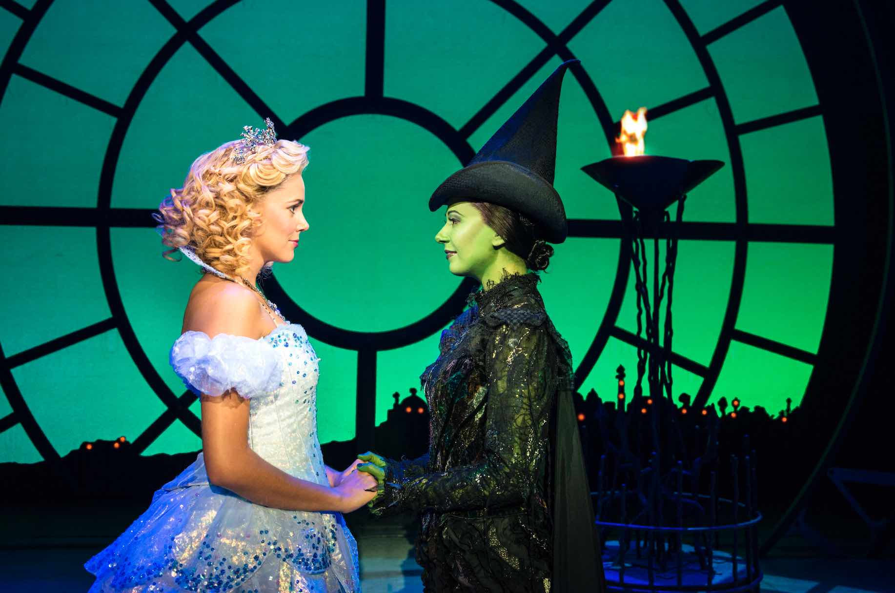 Elphaba Bids Goodbye Wicked The Musical Singapore - AspirantSG