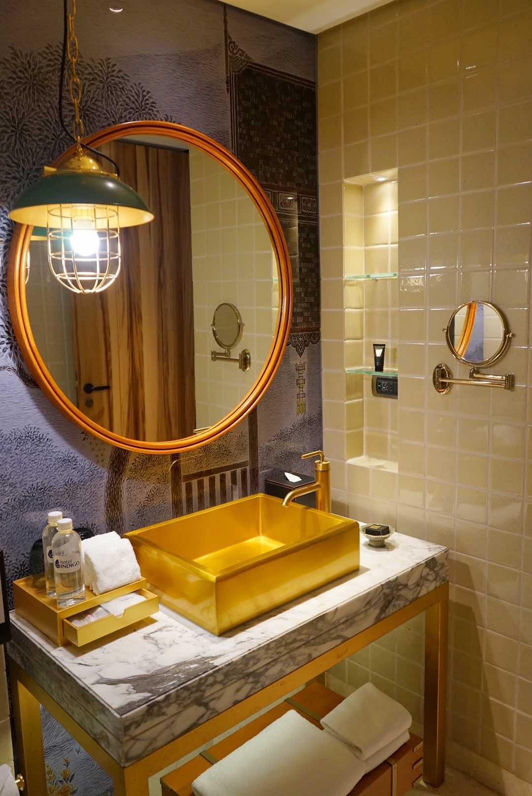 Golden Tap & Basin Hotel Indigo Bangkok - AspirantSG
