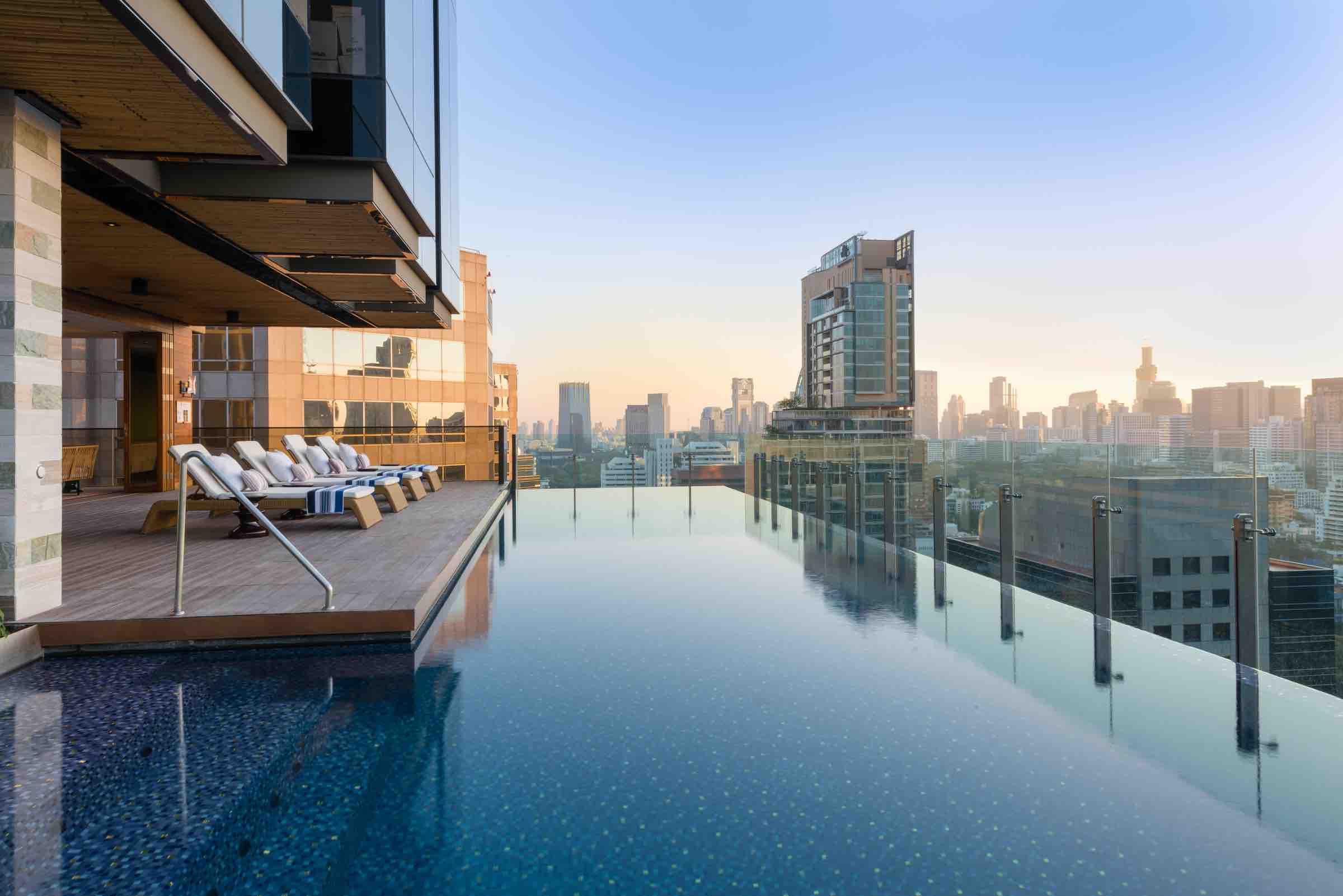 Hotel Indigo Bangkok Infinity Pool - AspirantSG