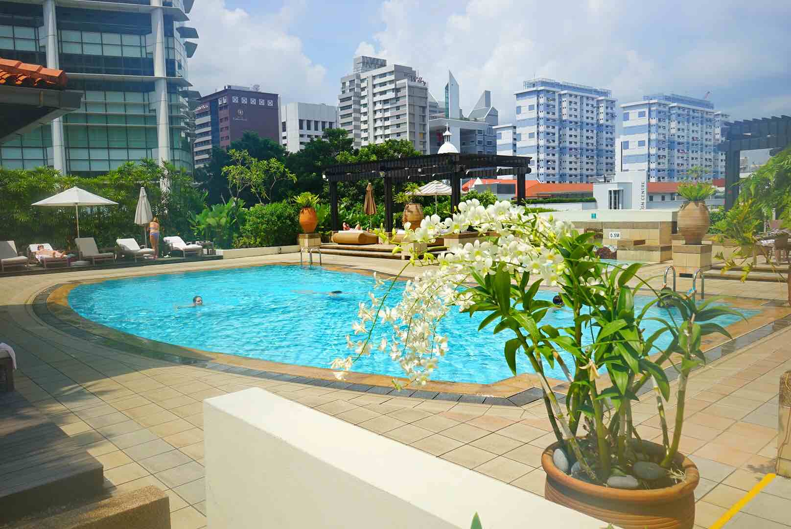 InterContinental® Singapore Pool - AspirantSG