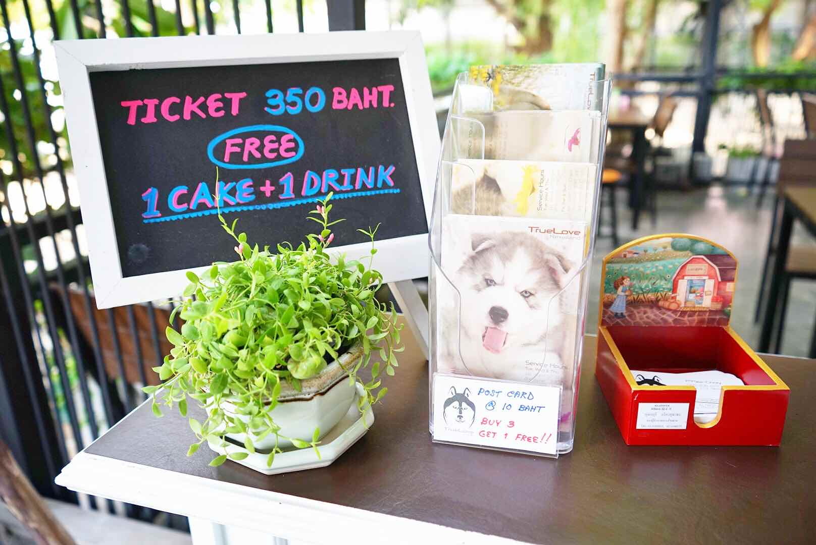 Payment Counter Neverland Siberian True Love Cafe, Bangkok - AspirantSG