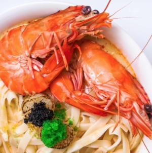 Maison Ikkoku Celebrates 6th Anniversary With Special King Prawn Udon