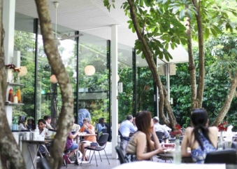 Wake Up To Breakfast In A Garden At PS.CAFE Harding Road