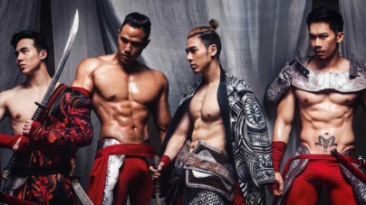 Skiinmode's Hot Asian Hunks In Costumes Will Make You Thirsty AF