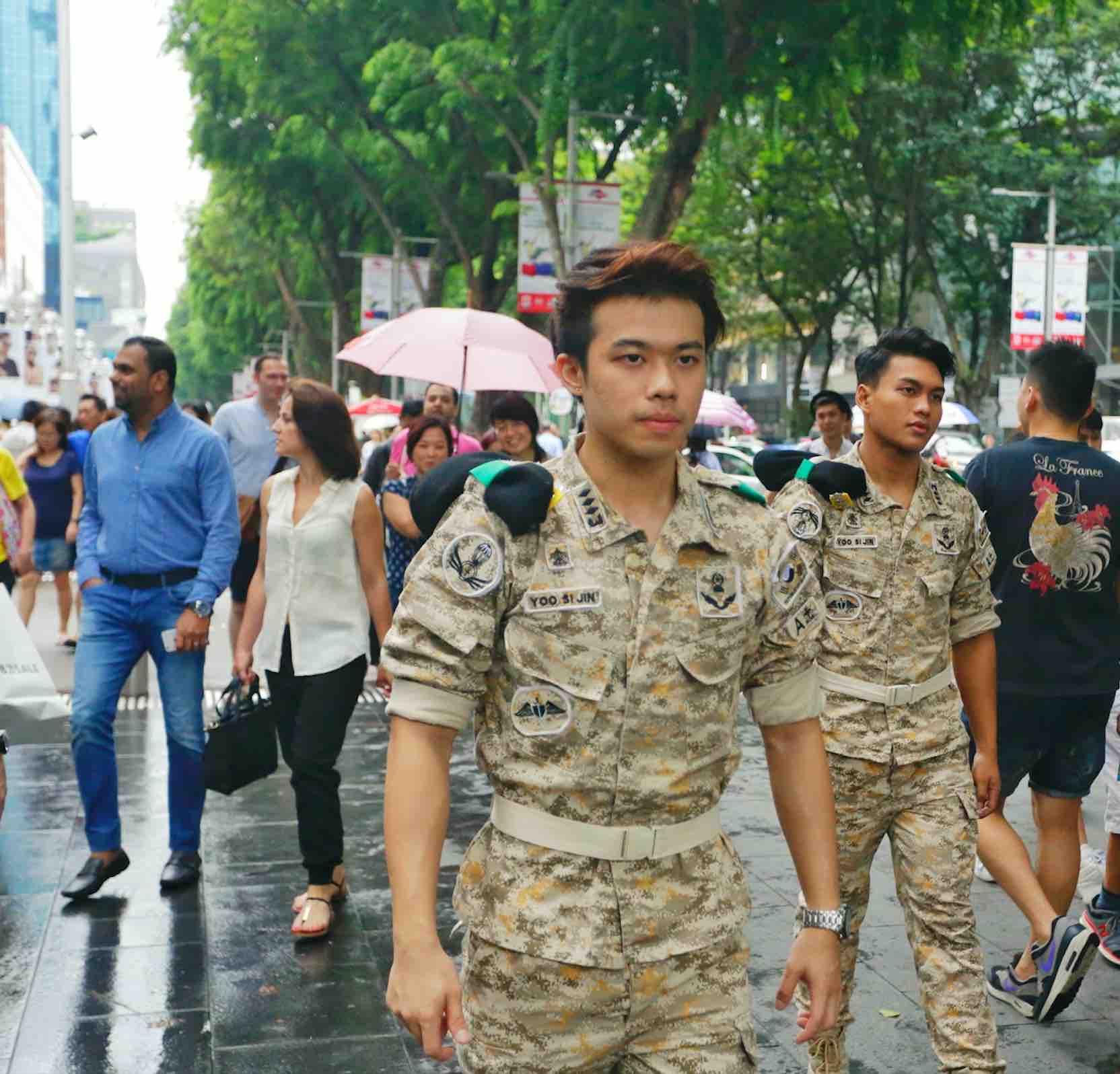 Hermo Hunks Patrol In Orchard Road - AspirantSG