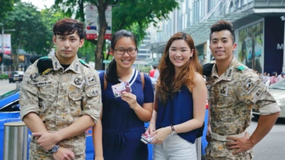 Hermo Celebrates 4th Anniversary With Descendants of the Sun Hunks in Singapore