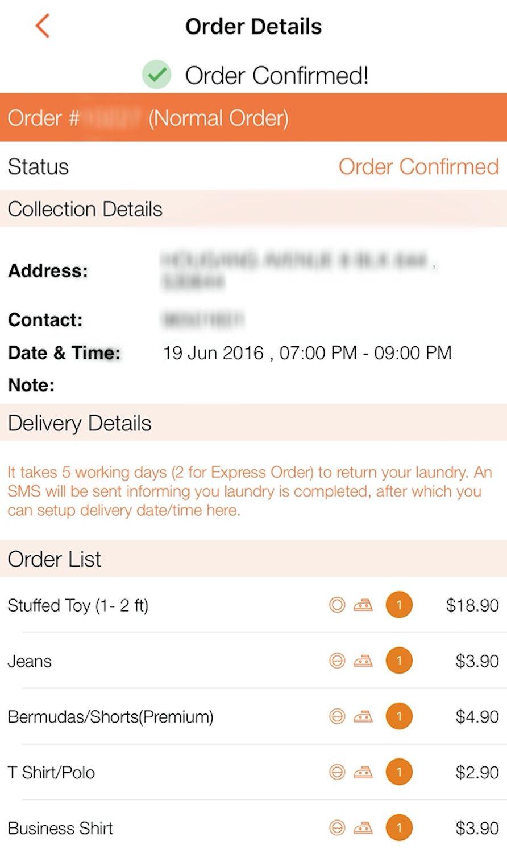 Knocknock Order Confirmation - AspirantSG