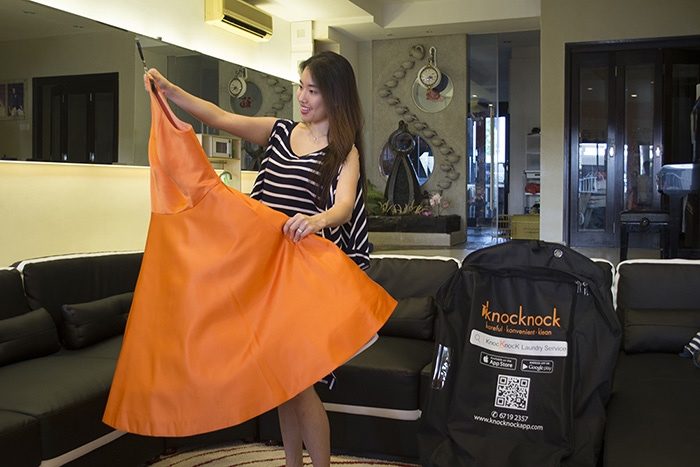 Laundry Quality Assured With Knocknock - AspirantSG