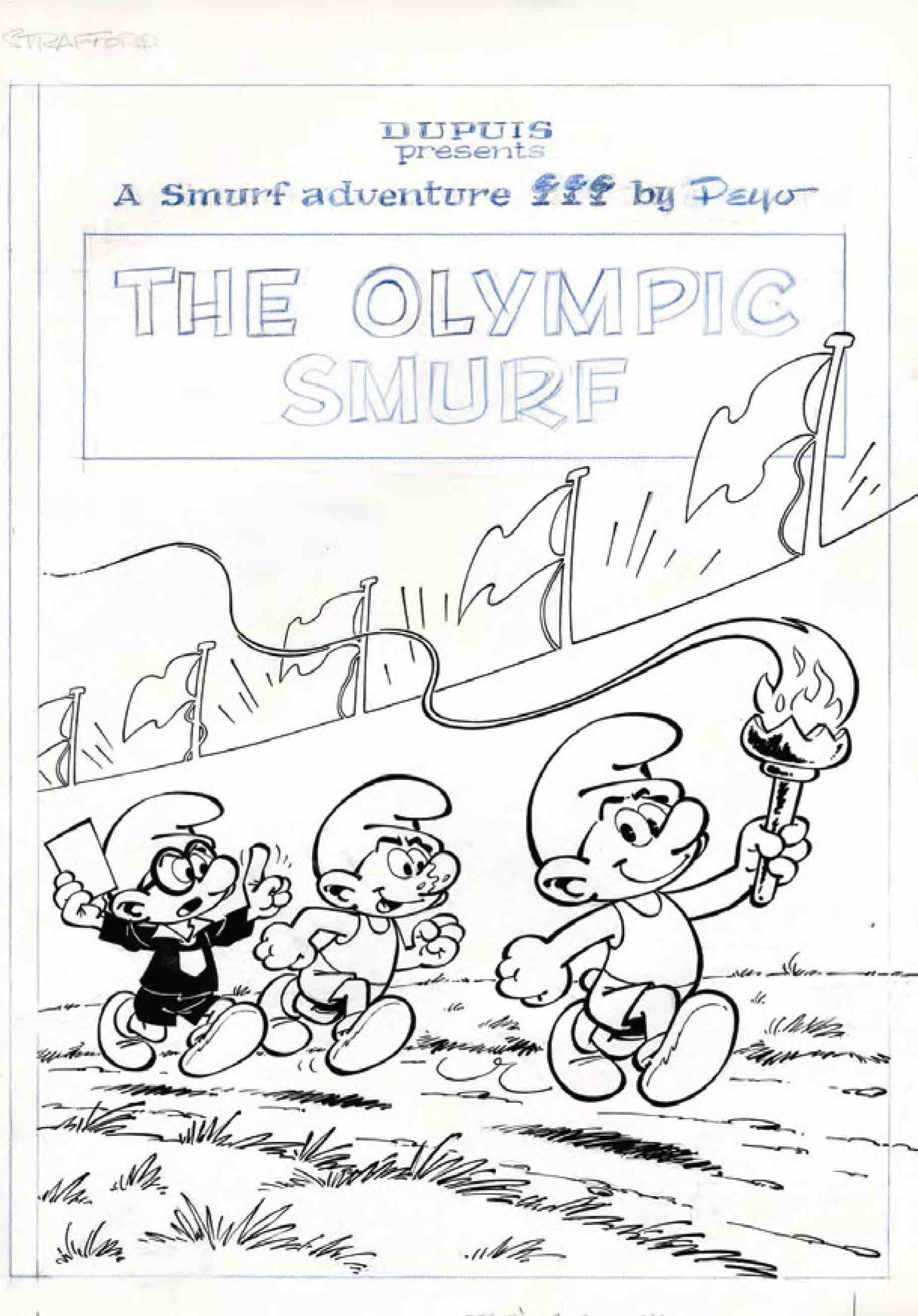 Original Works Of Peyo Smurfs - AspirantSG
