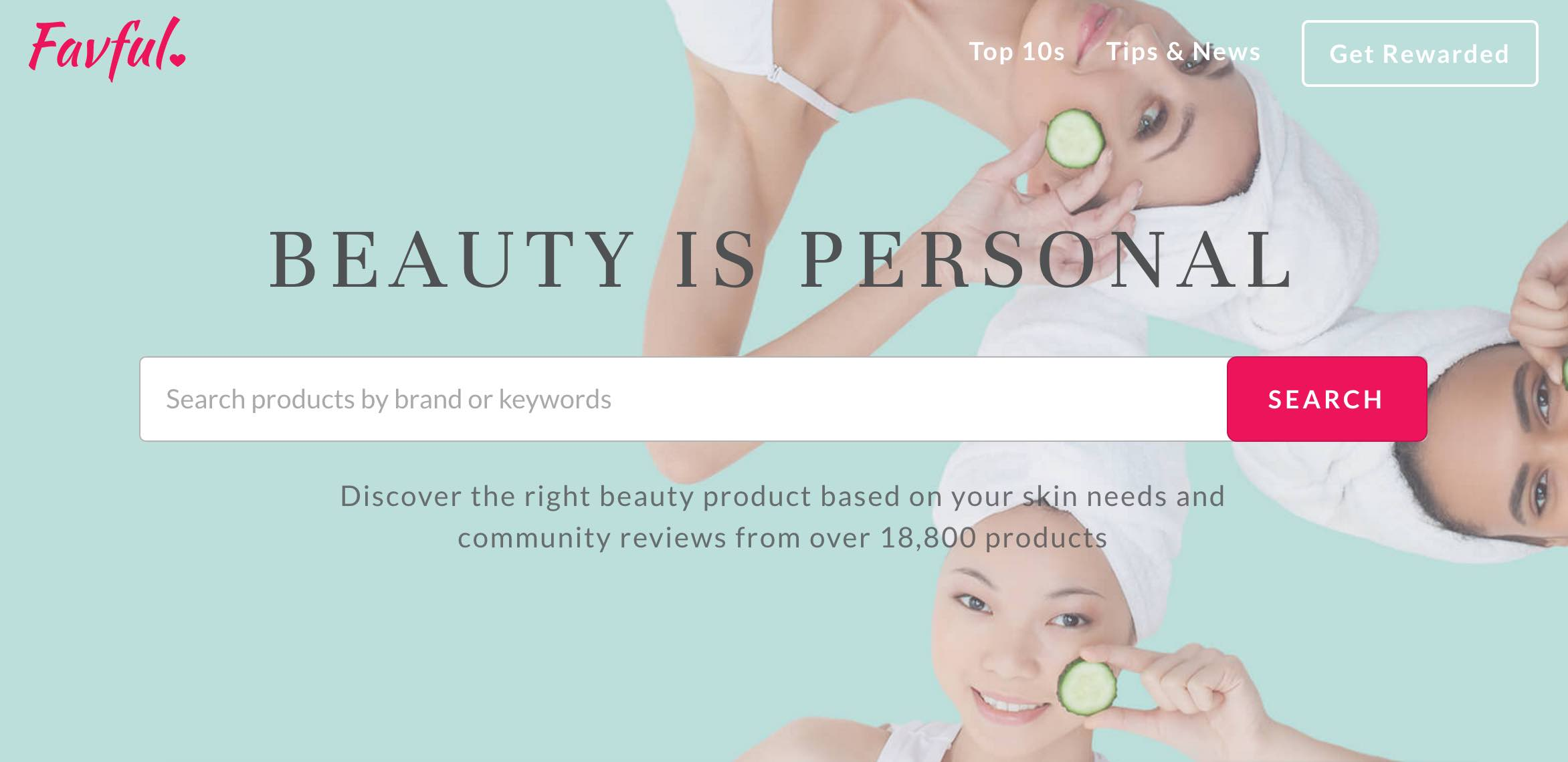 Favful Beauty Review Portal - AspirantSG