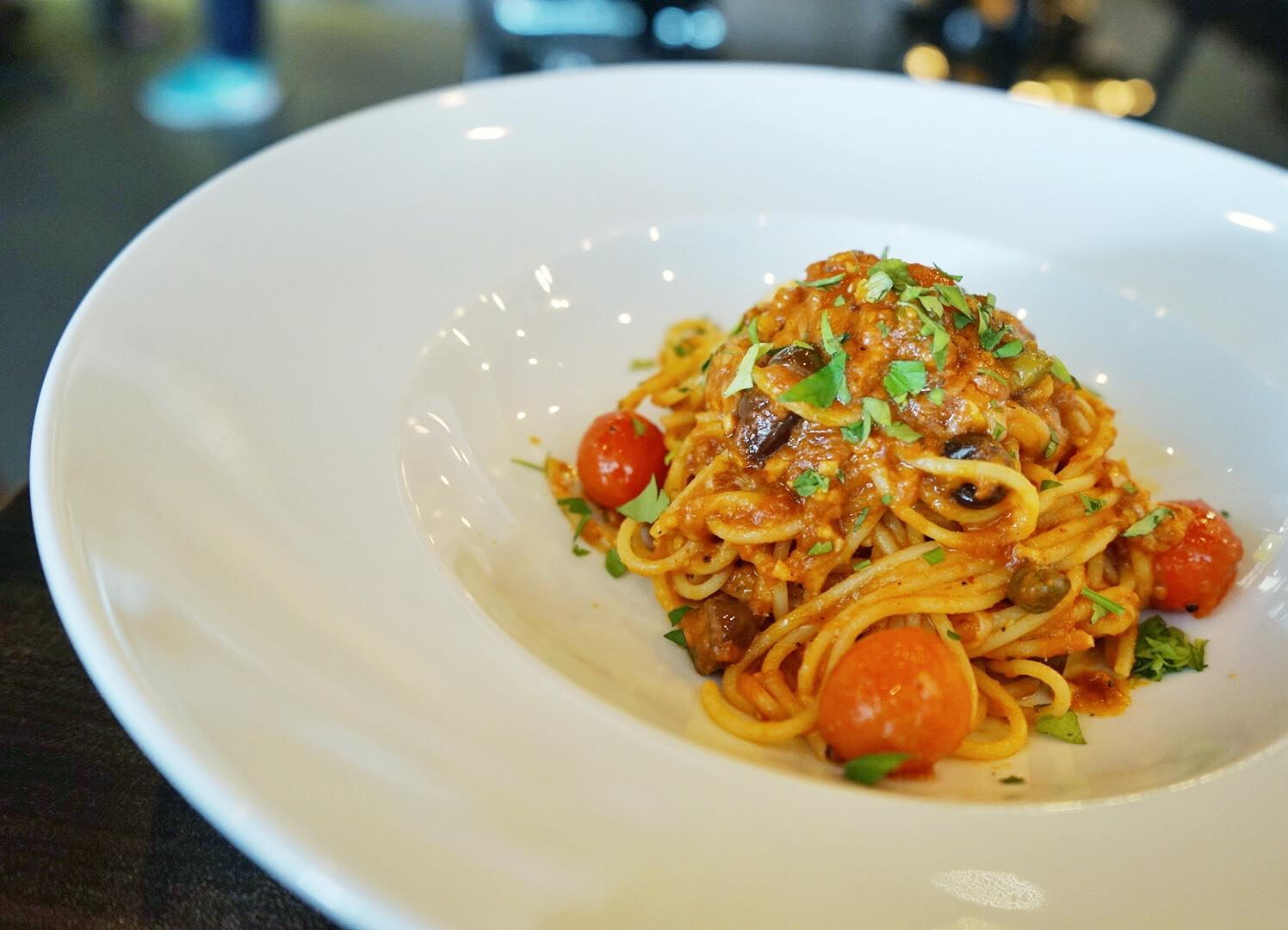 Puttanesca Pasta PocoLoco Singapore - AspirantSG