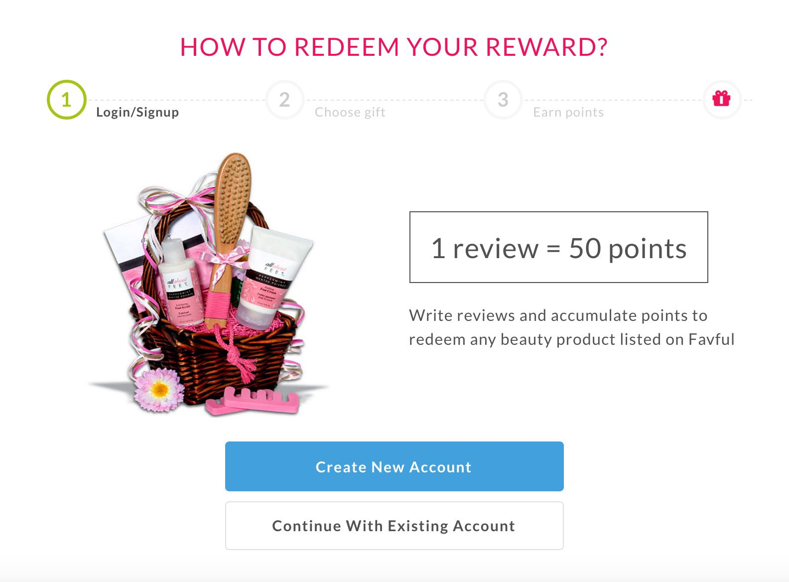 Rewards For Reviews Favful - AspirantSG