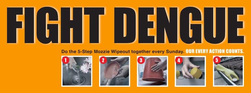 5 Steps Mozzie Wipeout -AspirantSG