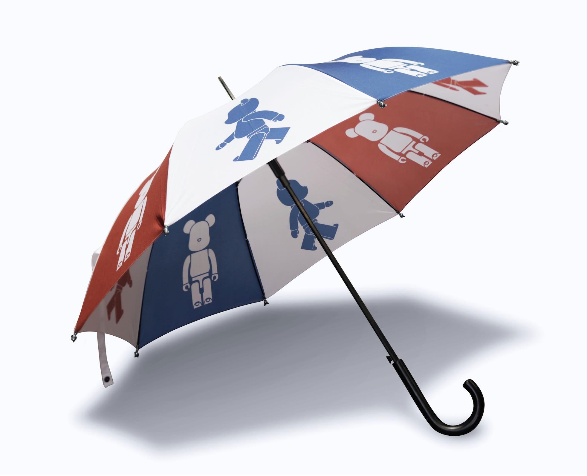 "ebe362b6 BE@RBRICK ""Style Up in the Rain"" Limited Edition Umbrella - AspirantSG"