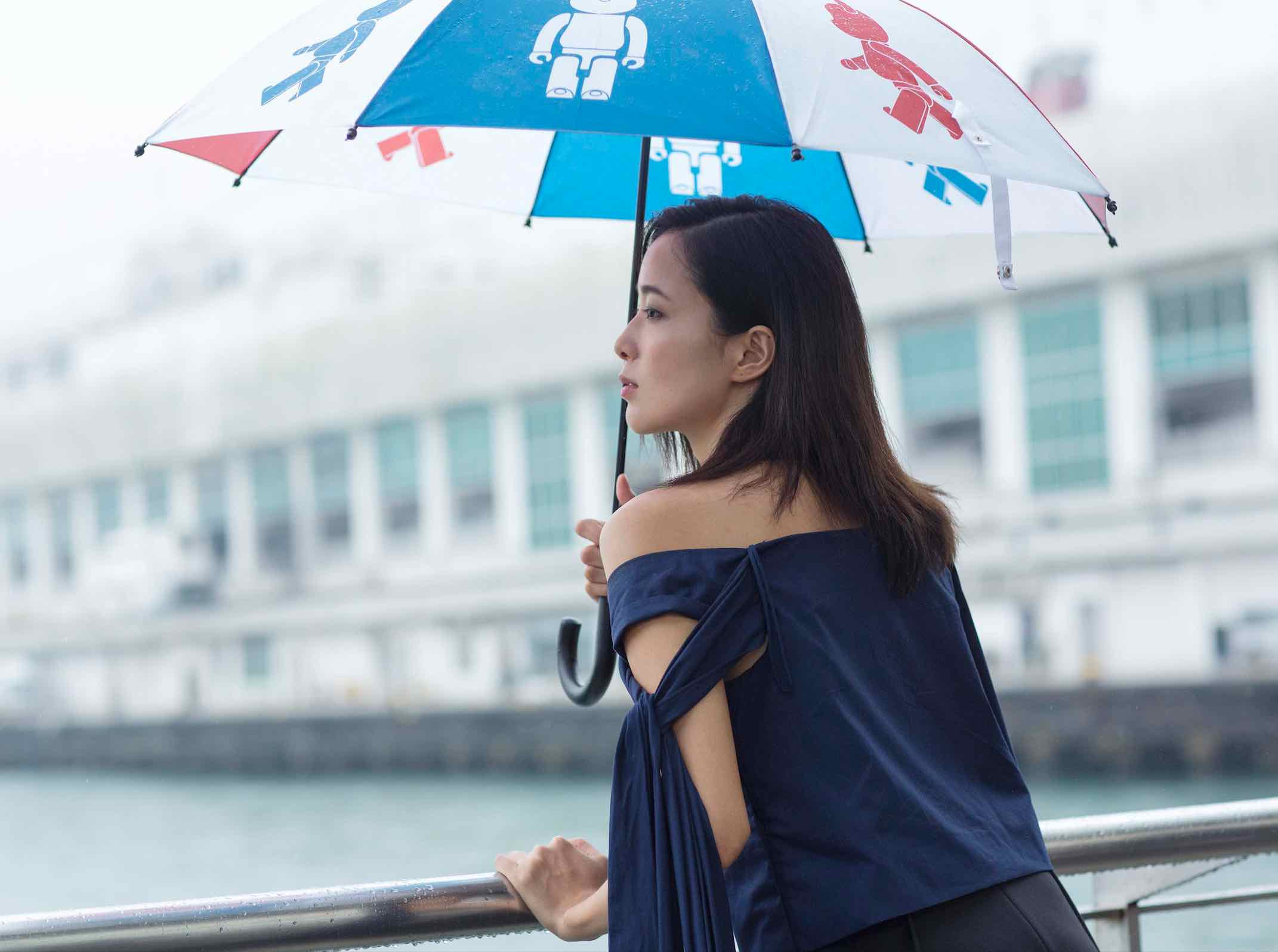 "BE@RBRICK ""Style Up in the Rain"" Umbrella - AspirantSG"