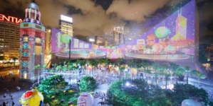 Hong Kong Pulse Light Show Back With New Wow Elements