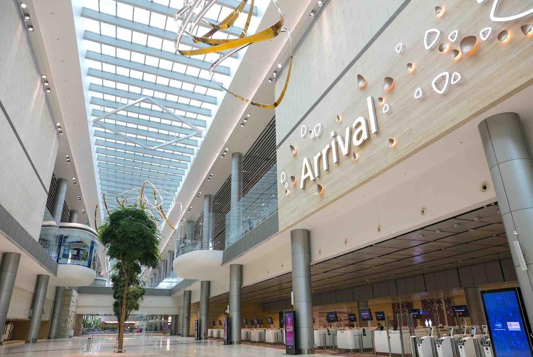 changi airport terminal 4 petalcloud fast departure. Black Bedroom Furniture Sets. Home Design Ideas