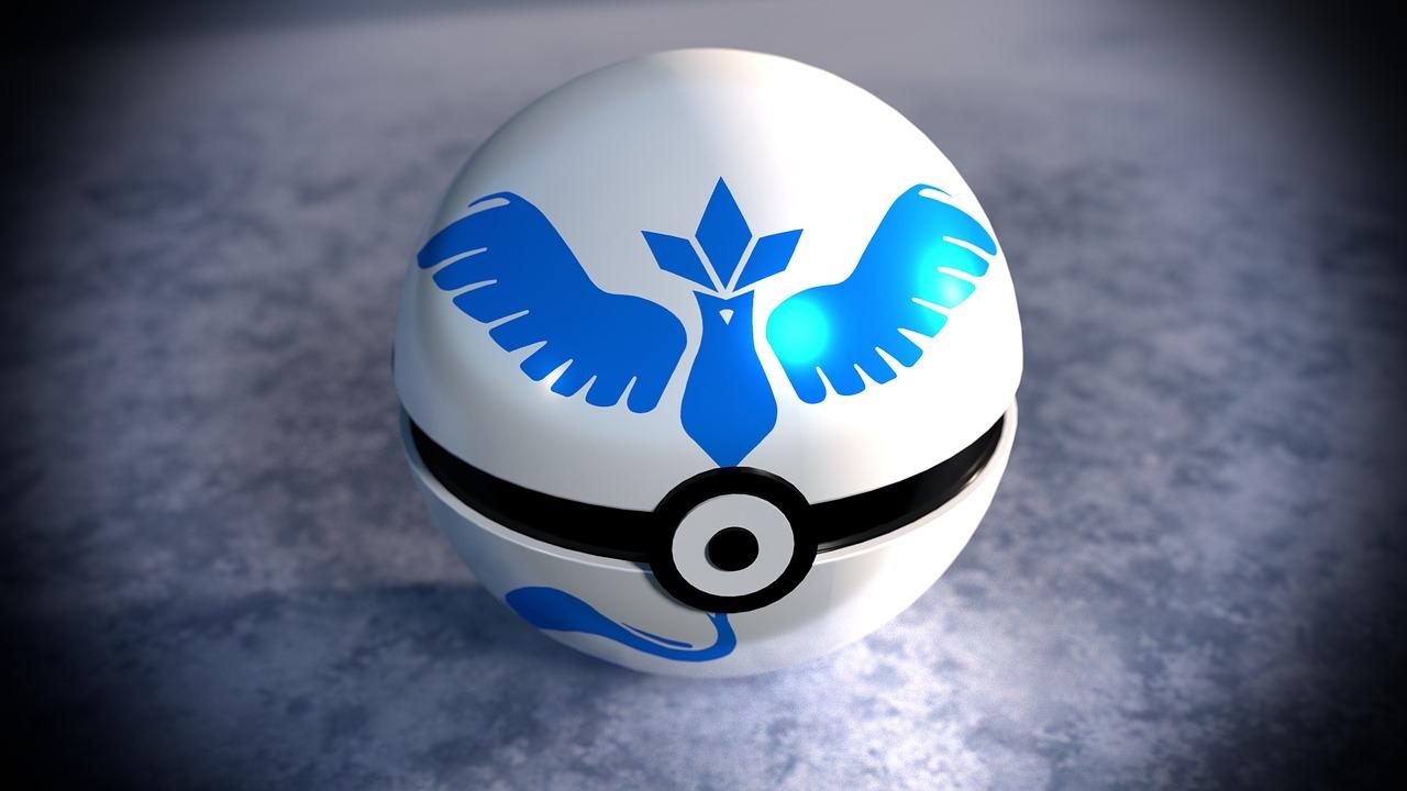 Team Mystic Pokemon Ball (Pixabay Free Image) - AspirantSG