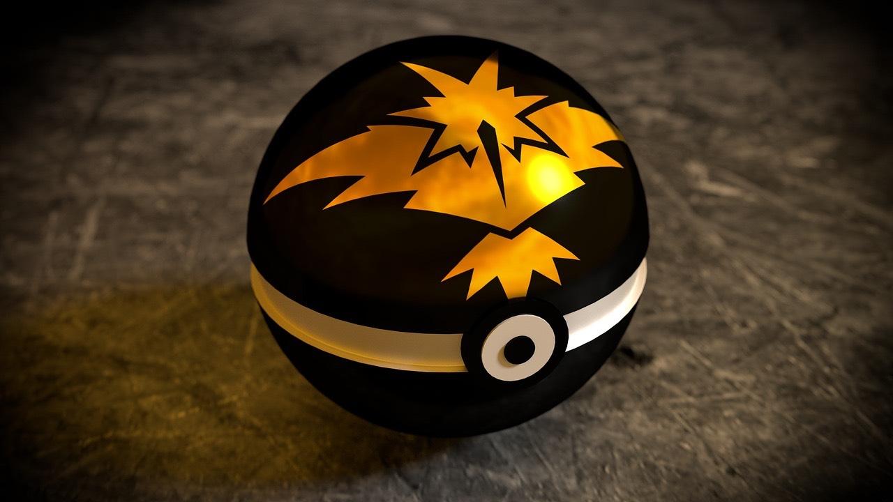 Zapdos Pokemon Ball (Pixebay Free Image) - AspirantSG