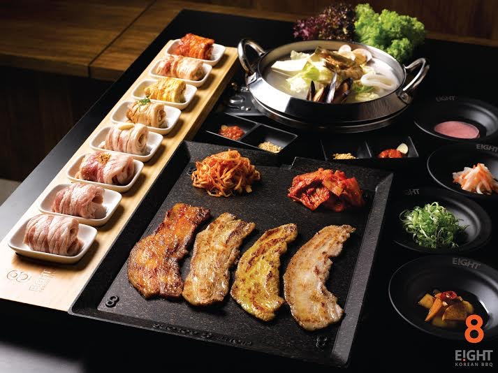 Eight Korean BBQ 8 Colours Set - AspirantSG