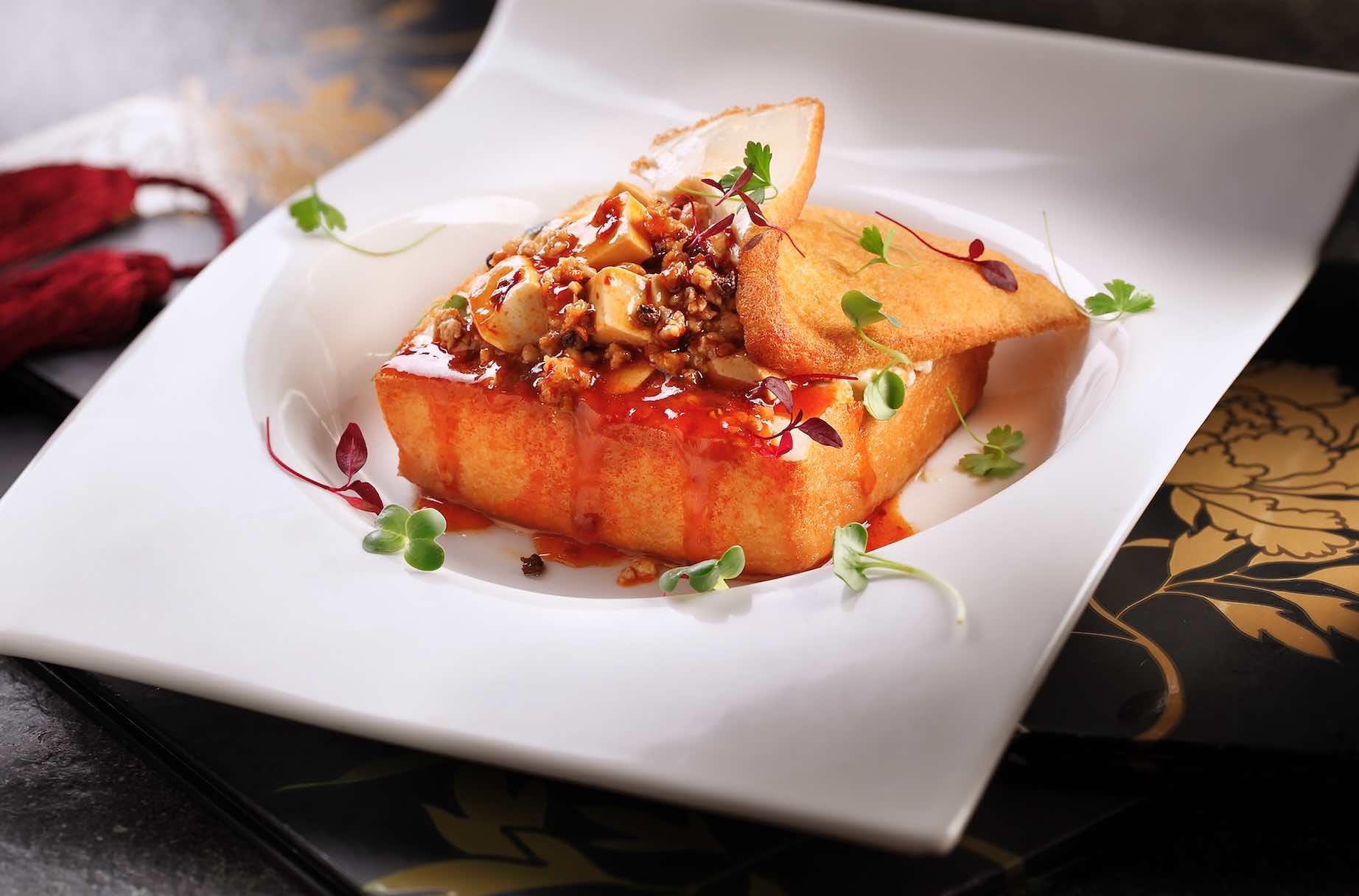 Peony Jade Restaurant Signature Ma Po Tofu - AspirantSG