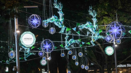 Orchard Road Festive Light-Up – Christmas On A Great Street 2016