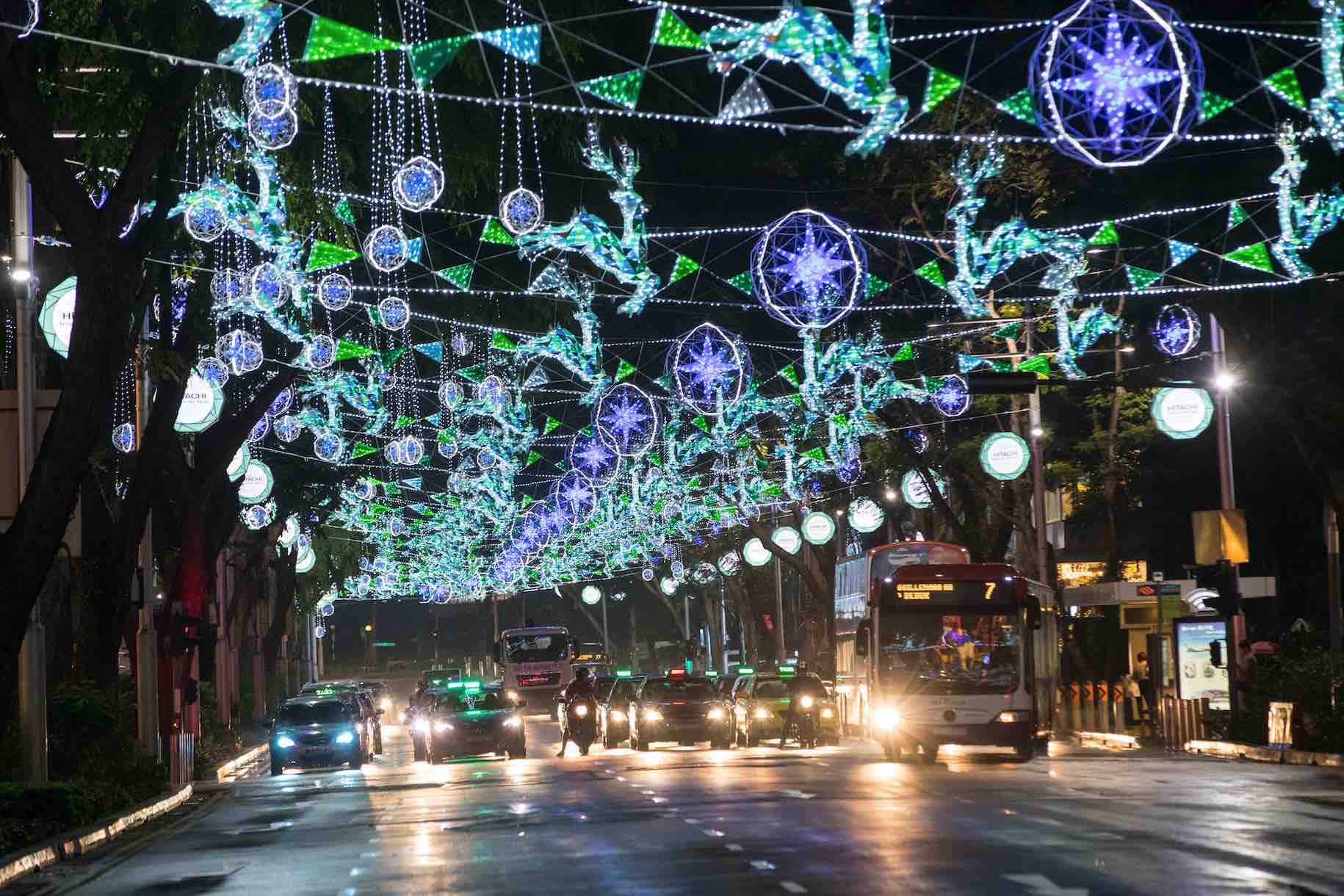 Orchard Road Festive Light Up Christmas On A Great Street 2016