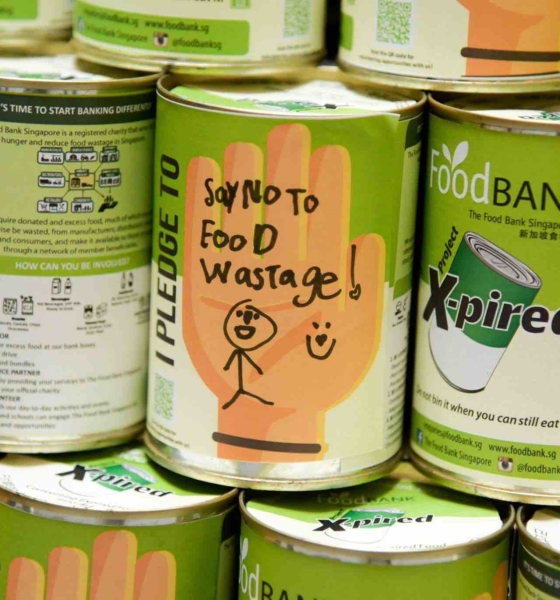 Food Bank Singapore – The Bank that Takes Your Leftovers