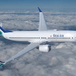 SilkAir Boeing 737 MAX 8 Arrival For New Destination Hiroshima Japan