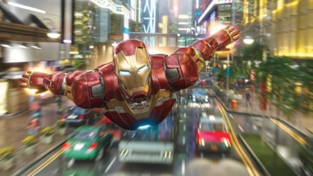Hong Kong Disneyland Launches Iron Man Experience Early January 2017
