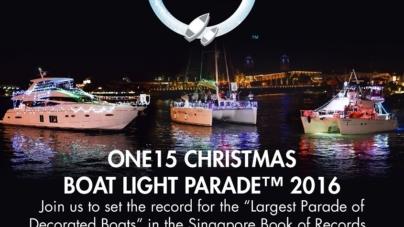 ONE15 Marina Sentosa Cove – A Sparkling Christmas Celebration In Singapore