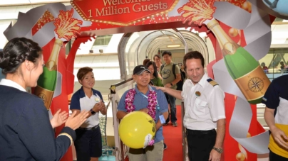 Royal Caribbean International Millionth Singapore Guest Celebrations