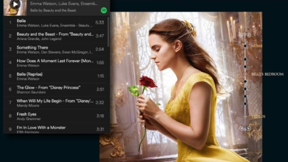 Disney Teams Spotify For Ultimate Beauty & The Beast Experience