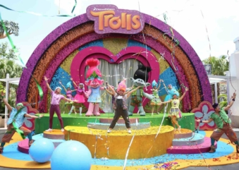 Get Happy At DreamWorks TrollsTopia Universal Studios Singapore!