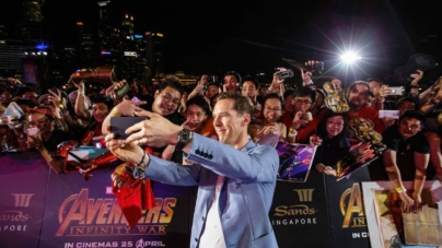 Avengers: Infinity War MBS Singapore – Heroes Greet 4,000 Fans