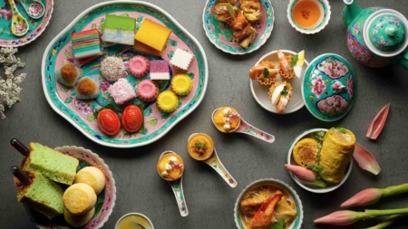 Pan Pacific Nostalgic Weekend High Tea Buffet Thrills Peranakan Foodies