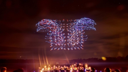 DBS Marina Regatta Shines With First Public Drone Light Show In Asia
