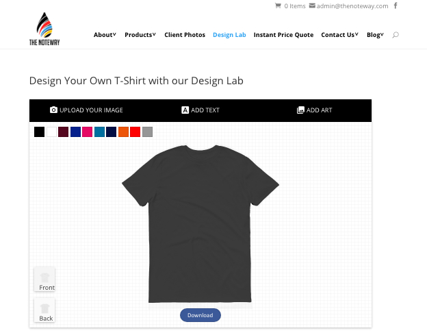 19 useful t shirt printing tips for dummies aspirantsg for Design lab create your own shirt