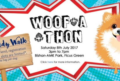 Register For Singapore Heart Foundation Woof-a-thon 2017 Today!